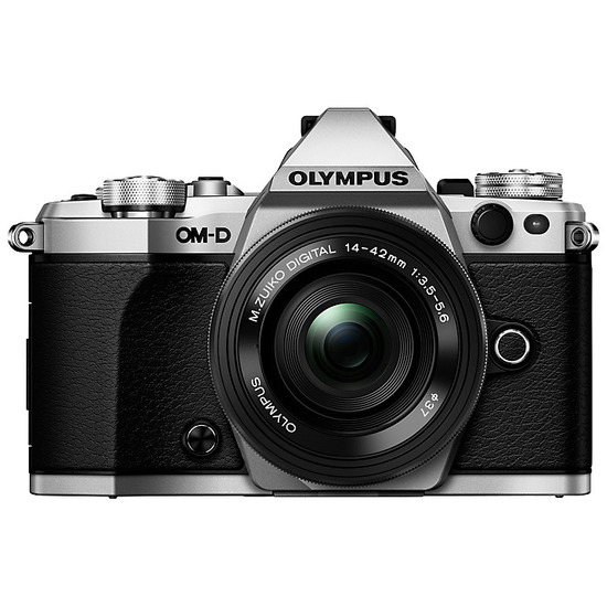 Olympus OM-D E-M5 Mark II Compact System Camera + 14-42mm EZ Lens