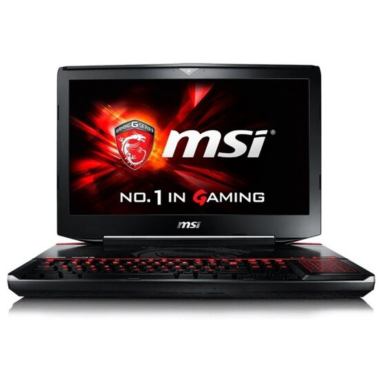 MSI GT80S 6QE(Titan SLI)-039UK Gaming Laptop Skylake i7-6700HQ 2.6GHz 16GB DDR4 RAM 1TB HDD 256GB SSD 18.4 FHD Blu-Ray nVidia Geforce GTX 980M 8GB WIFI Windows 10 64bit