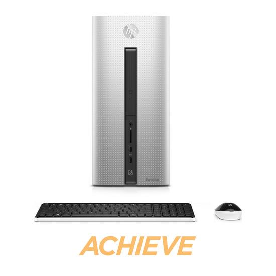 HP Pavilion 550-100na Desktop PC - Silver