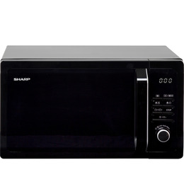 Sharp R374KM Solo Microwave - Black Reviews