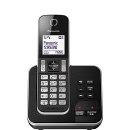 Panasonic KX-TGD320EB Cordless Phone with Answering Machine Reviews