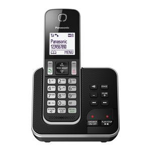 Photo of Panasonic KX-TGD320EB Cordless Phone With Answering Machine Landline Phone