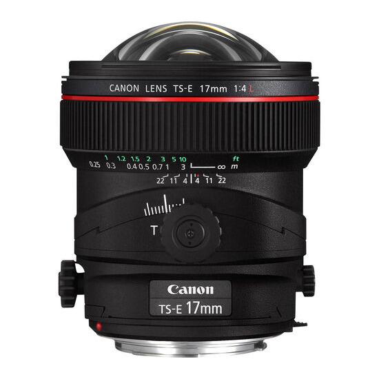 Canon TS-E 17 mm f/4.0 L Tilt-shift Lens