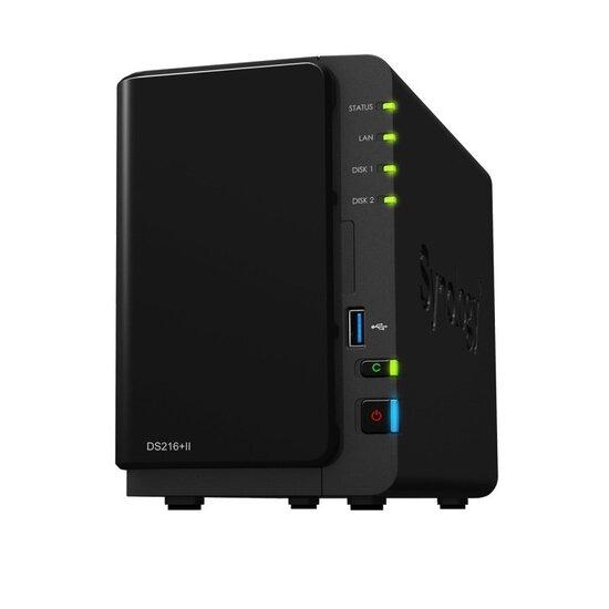 Synology DS216+II 16TB (2 x 8TB WD RED) 2 Bay Desktop NAS