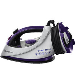 Easy Plug & Wind 18617 Steam Iron - White & Purple Reviews