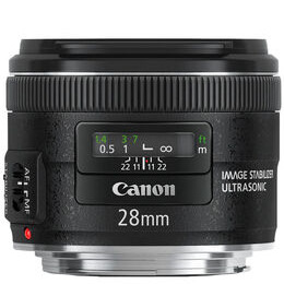 Canon EF 28mm f/2.8 IS USM Wide-angle Prime Lens