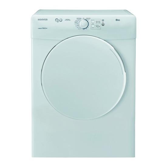 Hoover VTCC580B Condenser Tumble Dryer - White