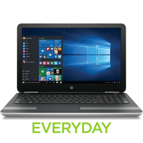 HP Pavilion 15-au074sa 15.6 Laptop Silver