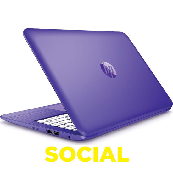 HP Stream 13-c151na 13.3 Laptop Purple