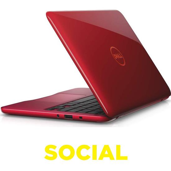 Inspiron 11-3162 11.6 Laptop - Red