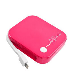 Recharge 4000 Portable Power Bank - Pink Reviews