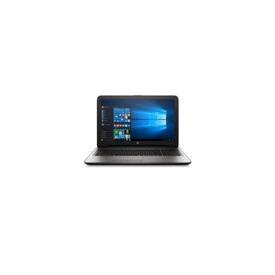 HP 15-ba015na AMD A8-7410 2.2GHz 8GB 1TB AMD Radeon R5 15.6 Inch Windows 10 Laptop Silver