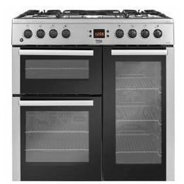 Beko BDVF90X 90cm Duel Fuel Range Cooker Stainless Steel Reviews