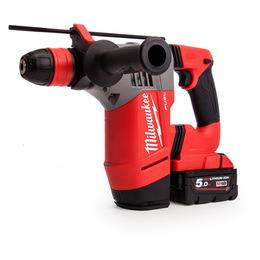 Milwaukee M18CHPX-502X SDS+ Rotary Hammer 18V Cordless Brushless li-ion 2 x 5Ah Reviews