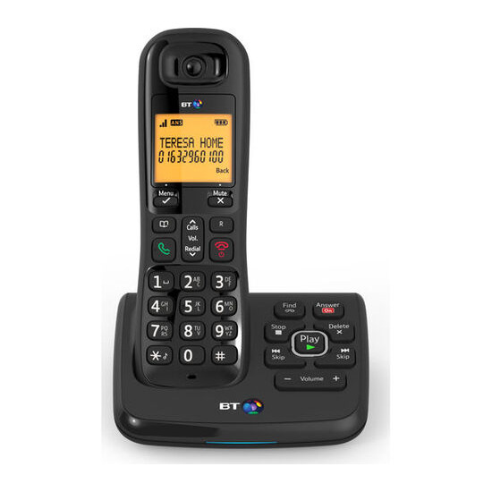 BT XD56 Cordless Telephone Single