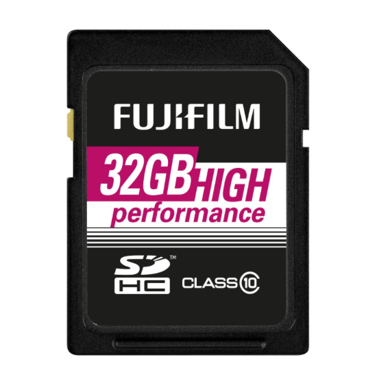 Fujifilm 32GB SDXC UHS-1 Class 10 90/60 MBs - 2016 Edition