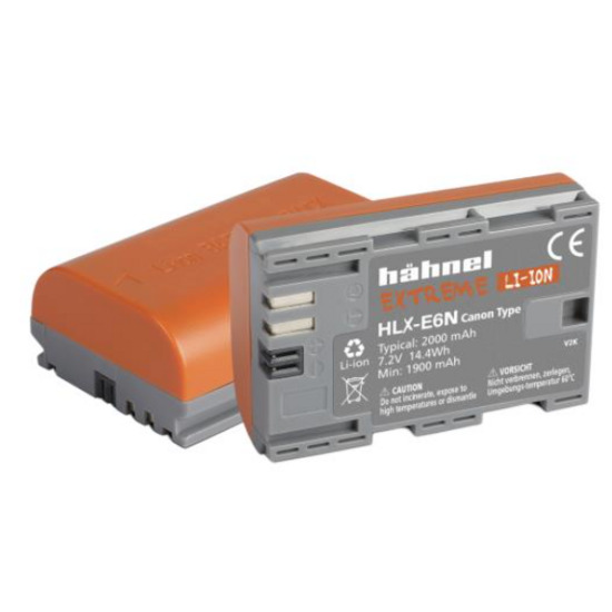 Hahnel HLX-E6n Extreme Battery for Canon Digital Cameras