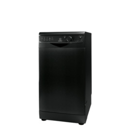 Indesit DSR15BK Slimline Dishwasher - Black