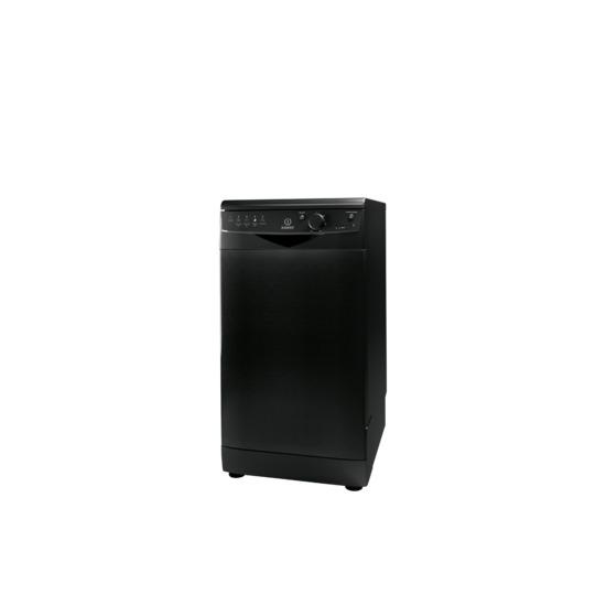 Indesit DSR15BK Slimline Dishwasher - Black