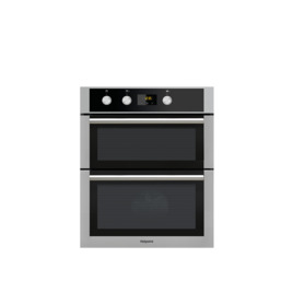 Hotpoint Class 4 DU4541JCIX Electric Built-under Double Oven - Stainless Steel Reviews