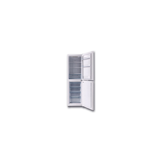 Lec TNF60188W White Freestanding frost free fridge freezer
