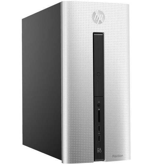 HP Pavilion 550-185 Gaming Desktop AMD Quad-Core A8-7600 APU 3.1GHz 8GB RAM 1TB HDD 128 GB SATA SSD DVDRW AMD R5 330 WIFI Windows 10 Home 64