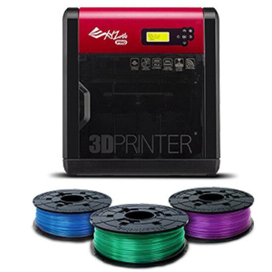 XYZprinting da Vinci 1.0 Pro 3D Printer + 3 Filaments