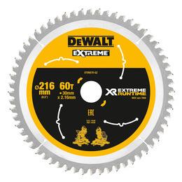 Dewalt DT99570 XR Extreme Runtime Mitre Saw Blade 216mm x 30mm x 60T Reviews