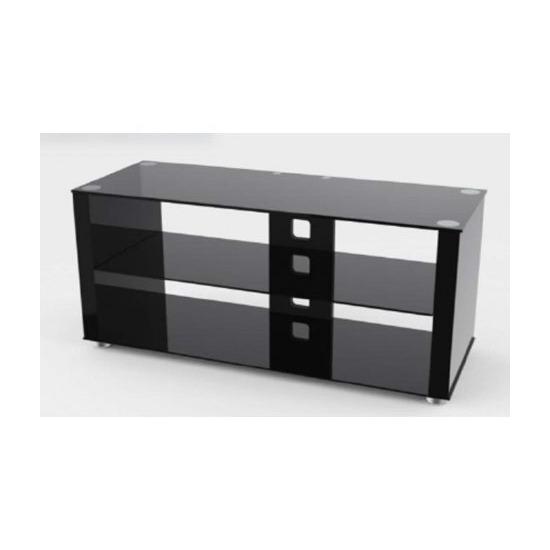 TNW Elegance 1000 Gloss Black  TV Stand