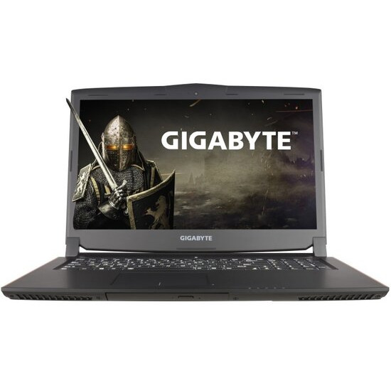 Gigabyte P57X V6-CF2 Gaming Laptop Intel Core i7-6700HQ 2.6GHz 16GB RAM 256GB SSD 1TB HDD 17.3 LED DVDRW NVIDIA GTX 1070 WIFI Bluetooth Webcam Windows 10 Home 64bit