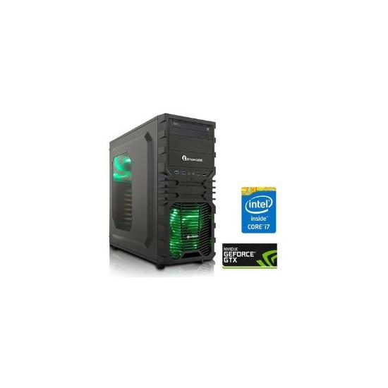 PC Specialist Osiris Impact XL Core i7-6700 3.4GHz 8GB 1TB SSHD Nvidia GeForce GTX 1060 6GB DVD-RW Windows 10 Gaming Desktop