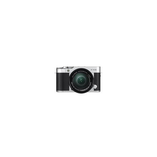 Fujifilm X-A3 Mirrorless Camera In Black + XC16-50mm Lens