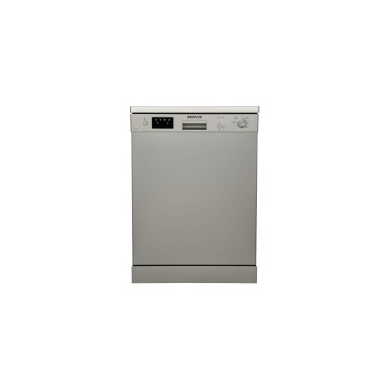 Sharp QWDX41F47W Fullsize Dishwasher