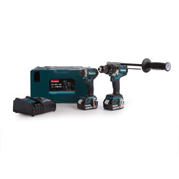 Makita DLX2176TJ 2 Piece Cordless Kit 18V LXT Li-ion (2 x 5.0Ah Batteries) Reviews