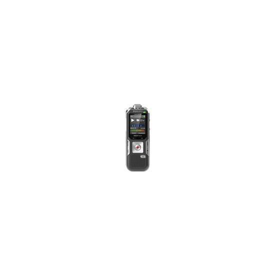 Philips DVT6010 8GB Digital VoiceTracer Audio Recorder -Silver / Grey