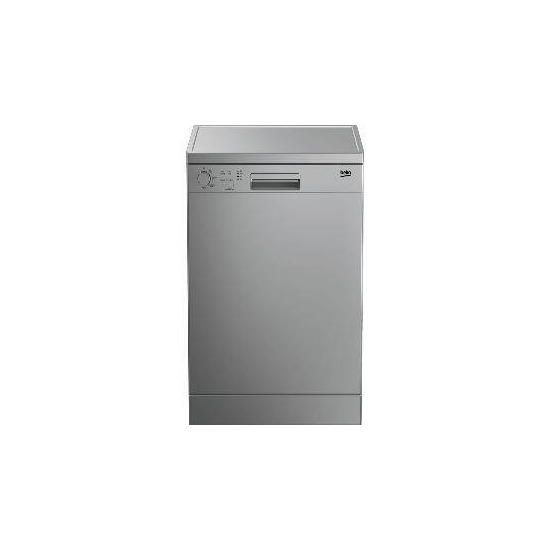 Beko DFC04210S Fullsize Dishwasher Silver