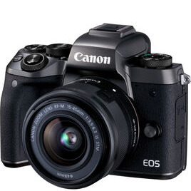 Canon EOS M5 + EF-M 15-45mm f/3.5-6.3 IS STM Lens Reviews