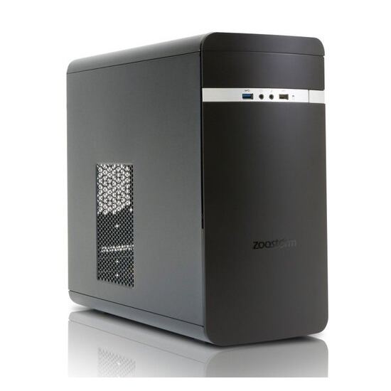 Zoostorm Evolve Desktop PC AMD A6 7400K 3.5GHz 4GB RAM 500GB HDD DVD/RW Radeon R5 Graphics Windows 10 Home