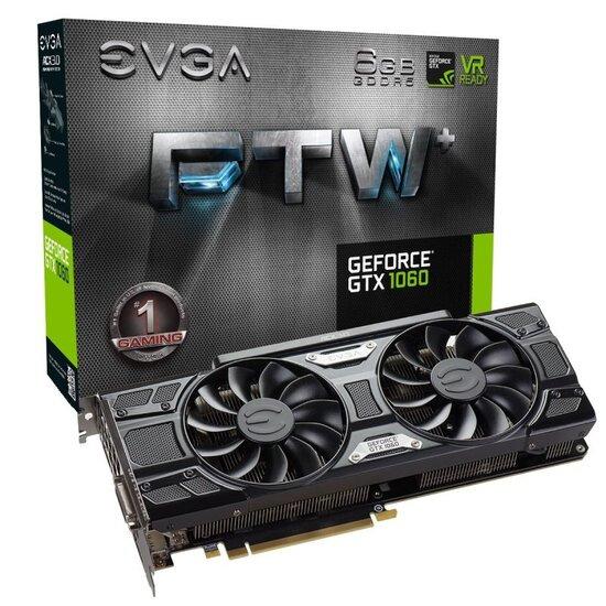 EVGA GeForce GTX 1060 FTW+ GAMING