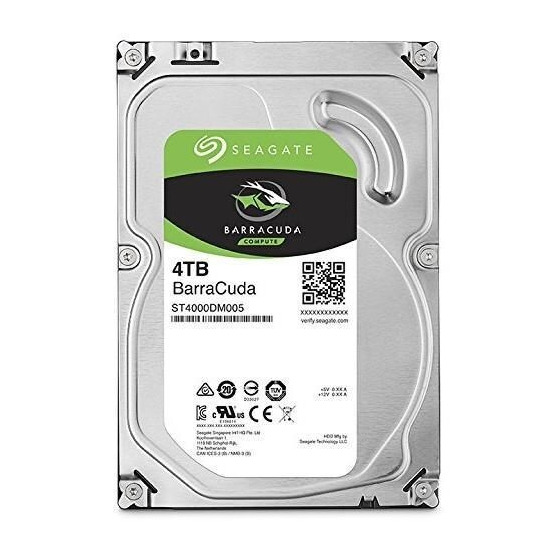 Seagate BARRACUDA 4TB 3.5IN 6GB/S SATA 64MB