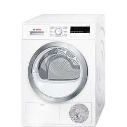 Bosch Serie 4 WTN85280GB Condenser Tumble Dryer - White Reviews