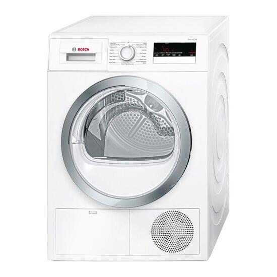 Bosch Serie 4 WTN85280GB Condenser Tumble Dryer - White