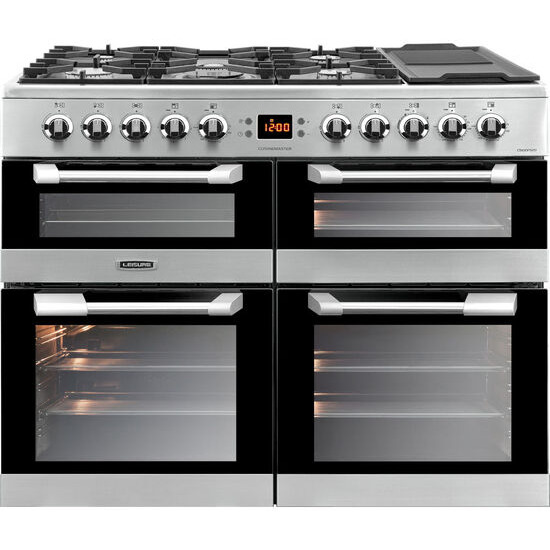 Cuisinemaster 100 Dual Fuel Range Cooker Stainless Steel
