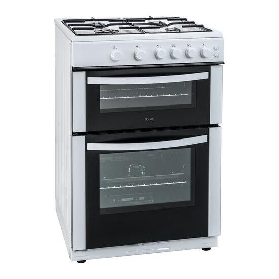 LOGIK LFTG60W16 60 cm Gas Cooker