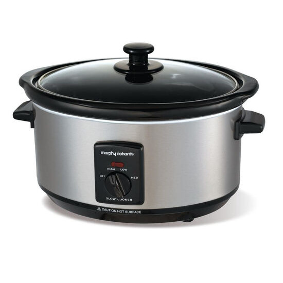 Morphy Richards Sear and Stew 48701 Slow Cooker - Stainless Steel