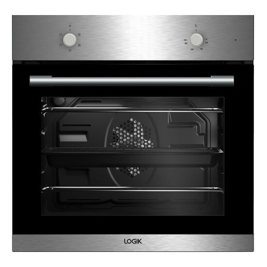 LOGIK LBFANX16 Electric Oven Stainless Steel