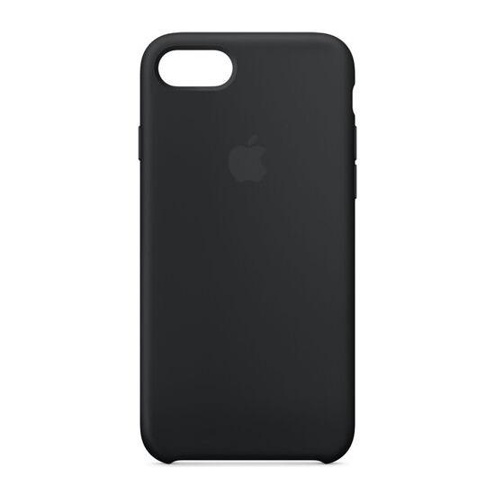 Silicone iPhone 7 Case - Black