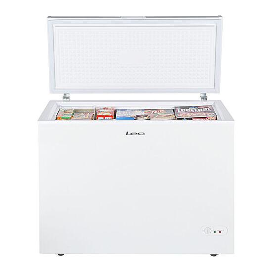LEC CF300L Chest Freezer - White