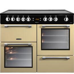 Cookmaster CK100C210C Electric Ceramic Range Cooker Cream Chrome Reviews