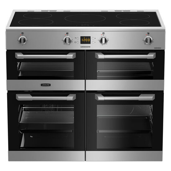 Cuisinemaster CS100D510X Electric Induction Range Cooker Stainless Steel